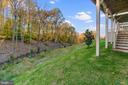 Basement Backyard view! - 18228 RED MULBERRY RD, DUMFRIES