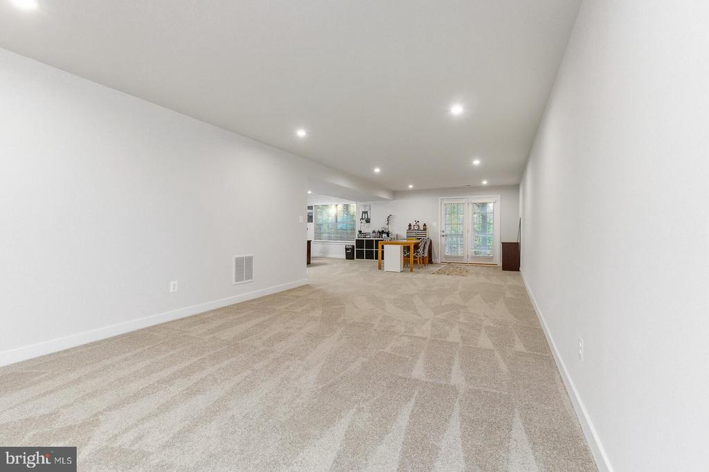 Basement level with a Game Room space ready! - 18228 RED MULBERRY RD, DUMFRIES