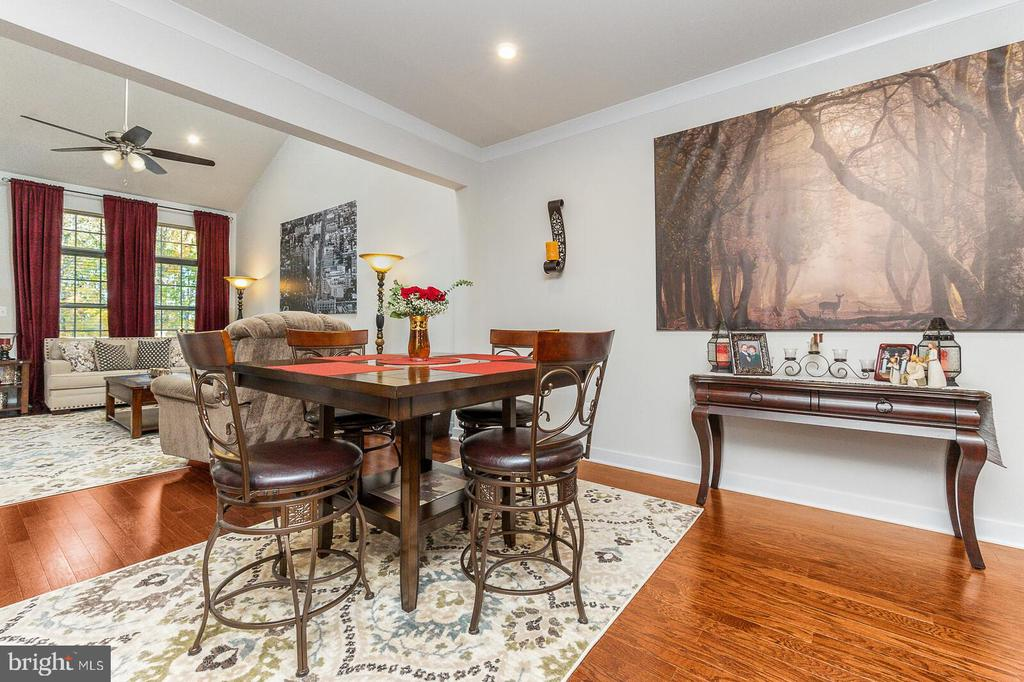 Dining Room and Living Room - Completely Open - 18228 RED MULBERRY RD, DUMFRIES