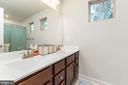Upstairs Full Bathroom for three upper bedrooms - 18228 RED MULBERRY RD, DUMFRIES