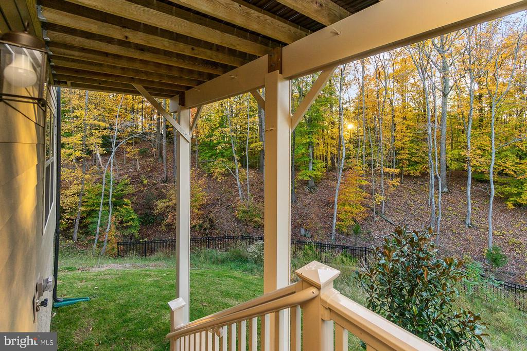 Basement Exit View of your Oasis - 18228 RED MULBERRY RD, DUMFRIES