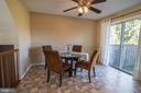 Large kitchen eat in area. - 102 TWIN BROOK LN, STAFFORD