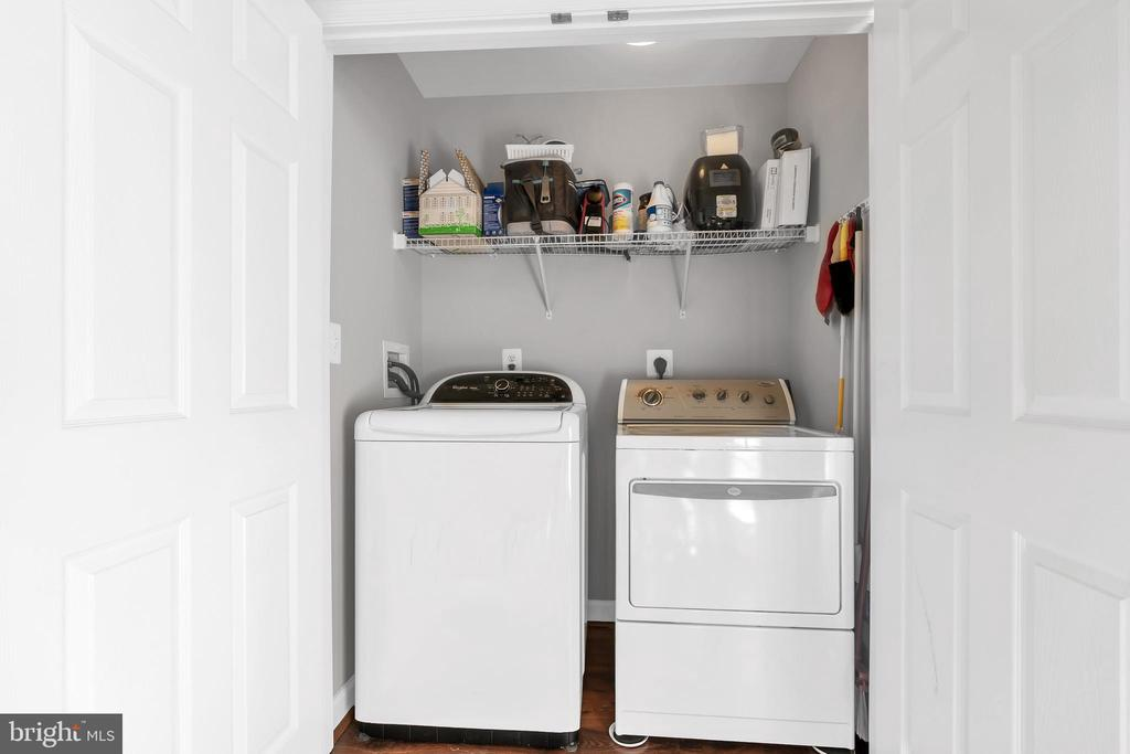 Full sized washer and dryer convey - 42509 HOLLYHOCK TER, BRAMBLETON