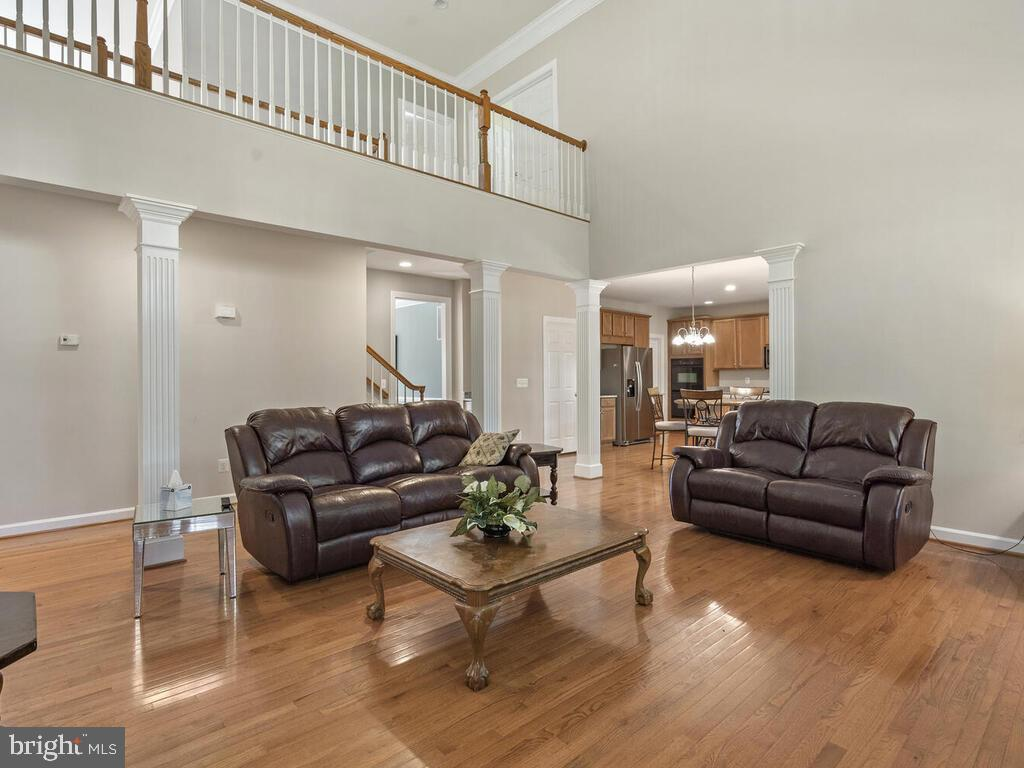 Family Room, Main Level - 14136 SNICKERSVILLE DR, GAINESVILLE