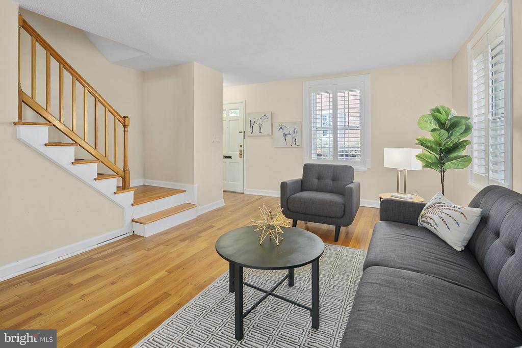 Living Room - 4634 31ST RD S, ARLINGTON