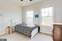 Spacious bedroom with plenty of light - 100 PEARL ST, HERNDON