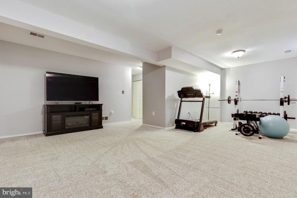 Large basement - 2828 JERMANTOWN RD #51, OAKTON