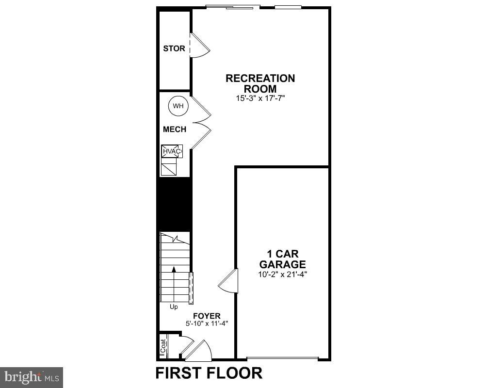 First Level Floor Plan - 123 BARNWELL DR, STAFFORD