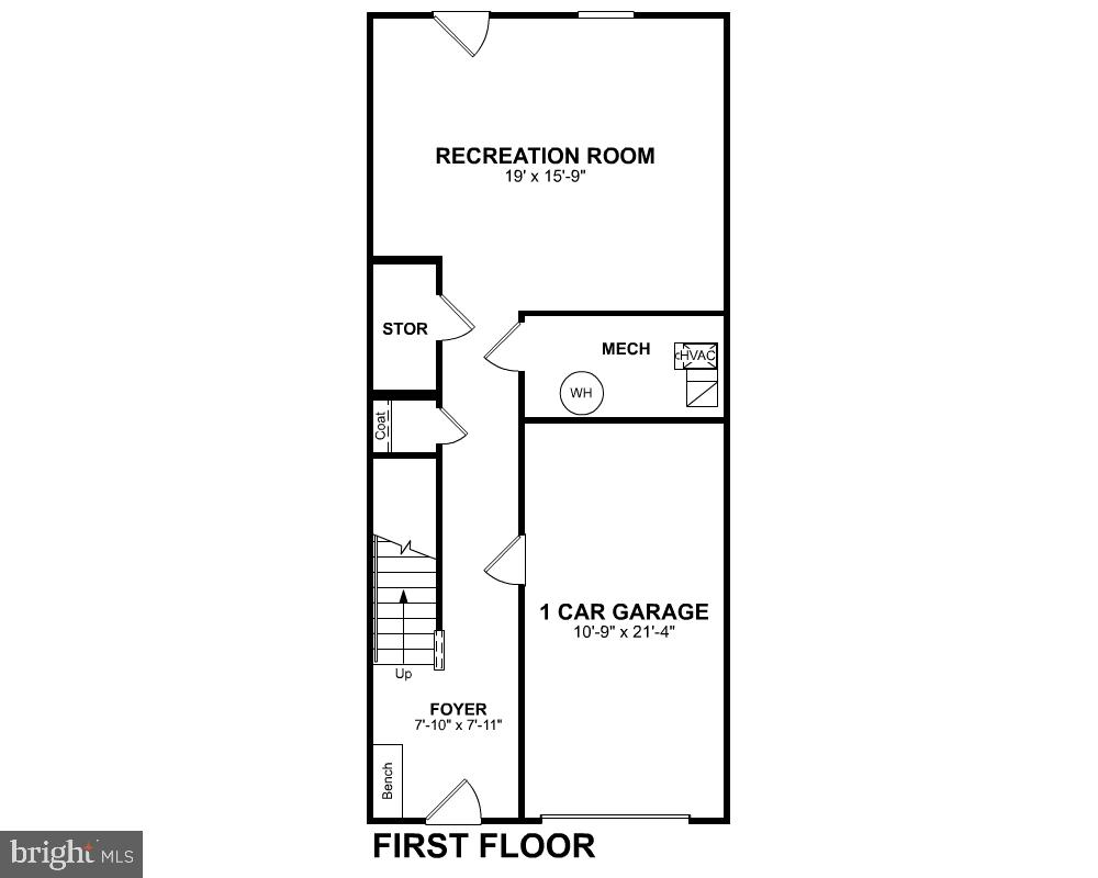 First Level Floor Plan - 456 BARNWELL DR, STAFFORD