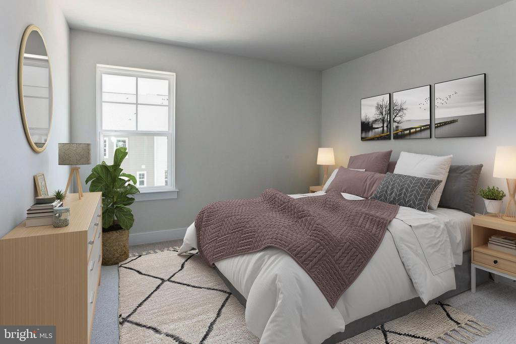 Bedroom - 456 BARNWELL DR, STAFFORD