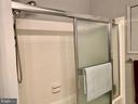 Glass Enclosed shower door - 11798 TARGET CT, WOODBRIDGE