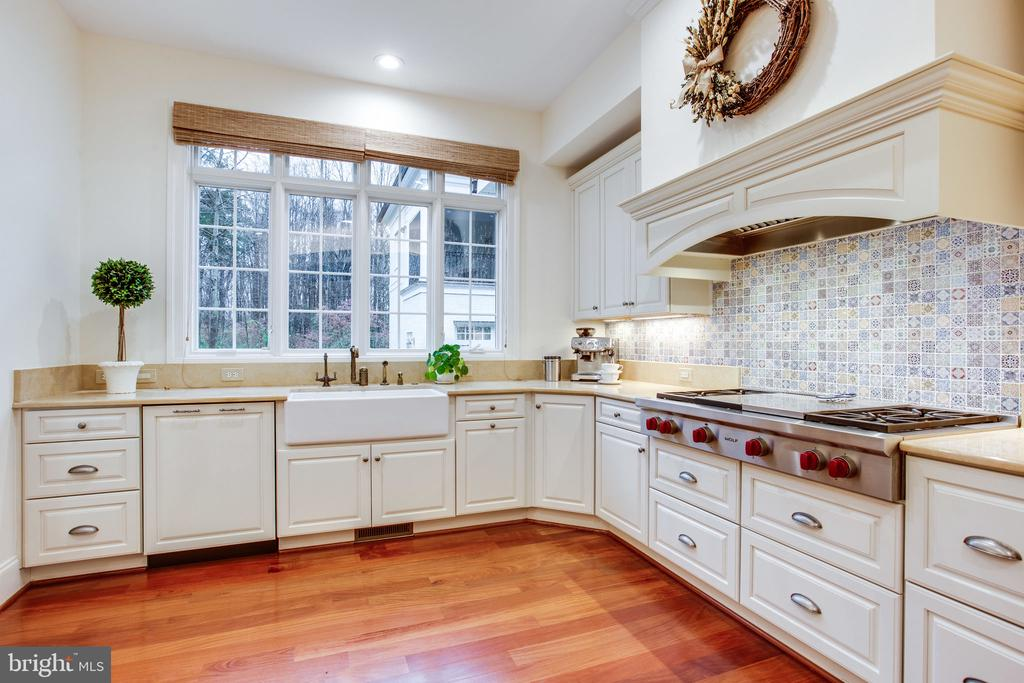 Well appointed kitchen w/ 3 dishwashers! - 10464 SPRINGVALE MEADOW LN, GREAT FALLS