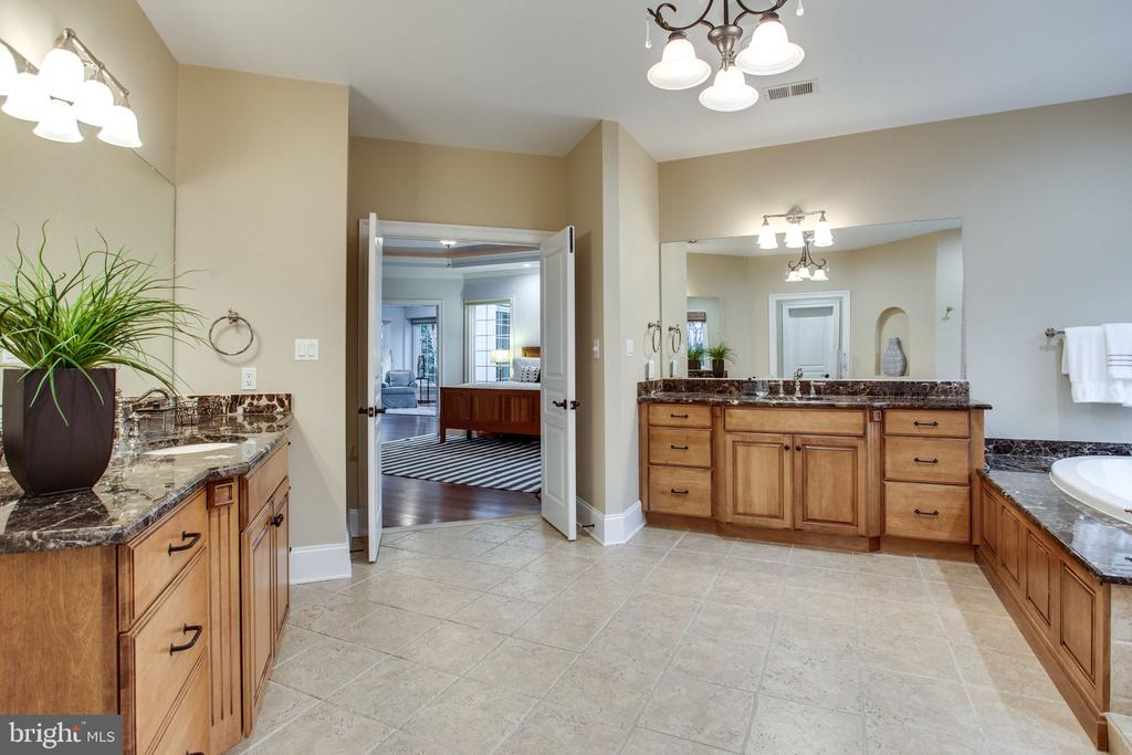 2 vanities for busy morning routines - 10464 SPRINGVALE MEADOW LN, GREAT FALLS