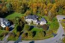 Aerial view of cul-de-sac location - 10464 SPRINGVALE MEADOW LN, GREAT FALLS