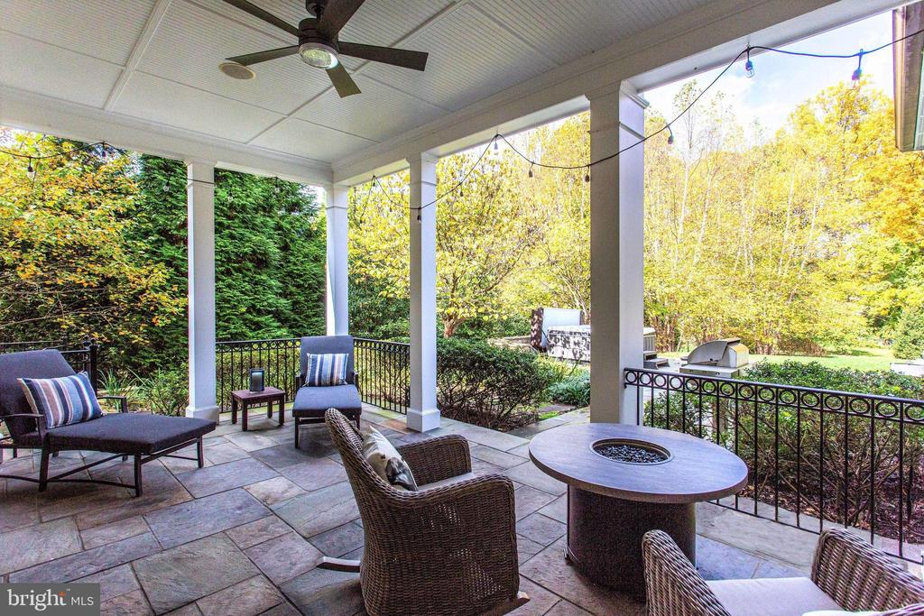 Inviting porch - 10464 SPRINGVALE MEADOW LN, GREAT FALLS