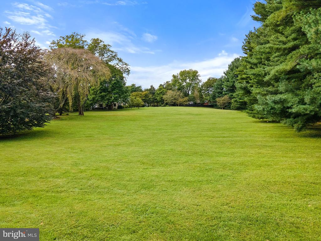 Expansive front lawn sets house far off the road - 501 W WASHINGTON ST, MIDDLEBURG