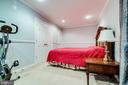 Lower Level 5th Bedroom View - 5408 BANTRY CT, WOODBRIDGE