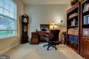 Office to the left of Foyer - 5408 BANTRY CT, WOODBRIDGE
