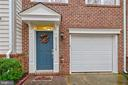 Front entry with portico! Upgraded garage door! - 43138 HUNTSMAN SQ, BROADLANDS