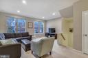 Huge living/dining room combo, recessed lighting! - 43138 HUNTSMAN SQ, BROADLANDS