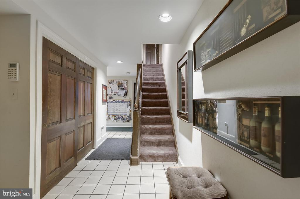 Entry to first floor Kitchen - 2034 O ST NW, WASHINGTON