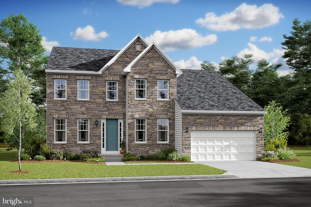 Traditional Elevation with optional stone front - 05 SHANDOR RD, WOODBRIDGE