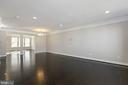 Open floorplan w/ hardwoods: living & dining rooms - 43976 VAIRA TER, CHANTILLY