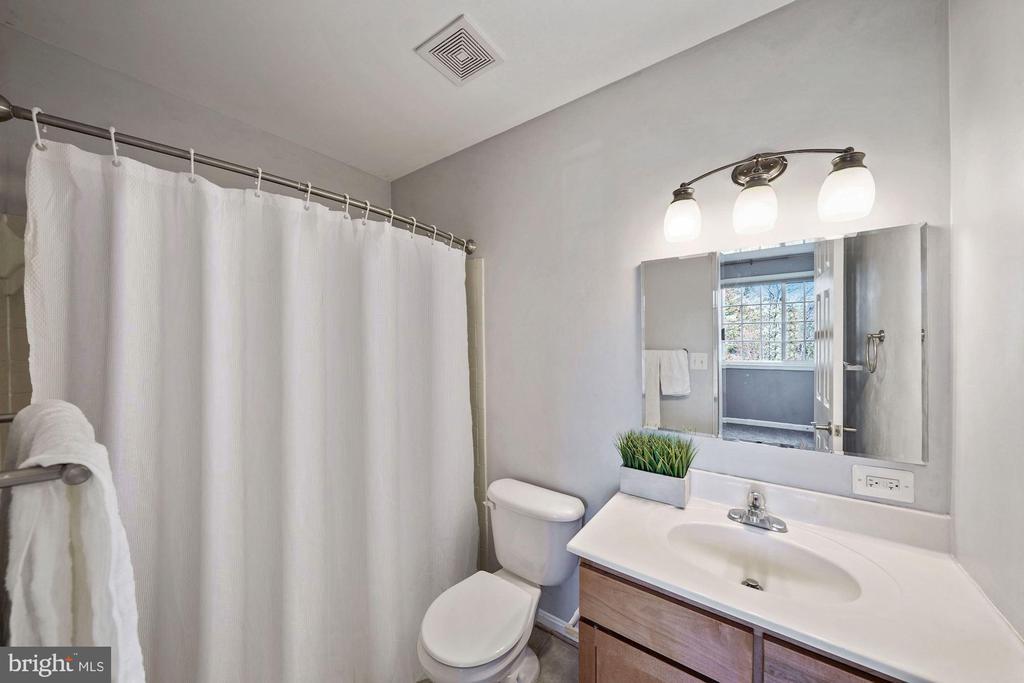 Master bathroom - 1573 N VAN DORN ST #B, ALEXANDRIA