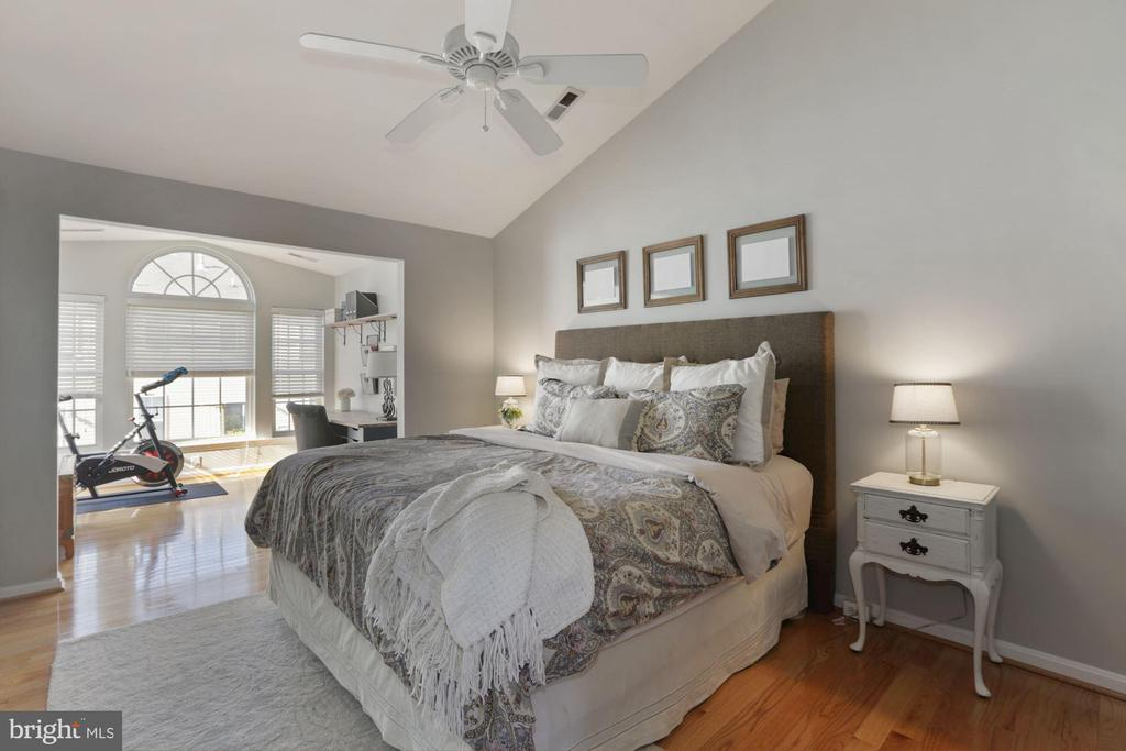 Huge master suite with vaulted ceiling - 43669 SCARLET SQ, CHANTILLY