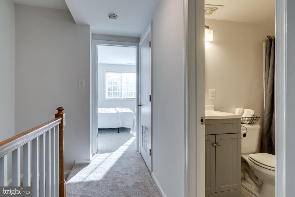 New vanity, faucet, light fixture & flooring - 1403 N VAN DORN #C, ALEXANDRIA