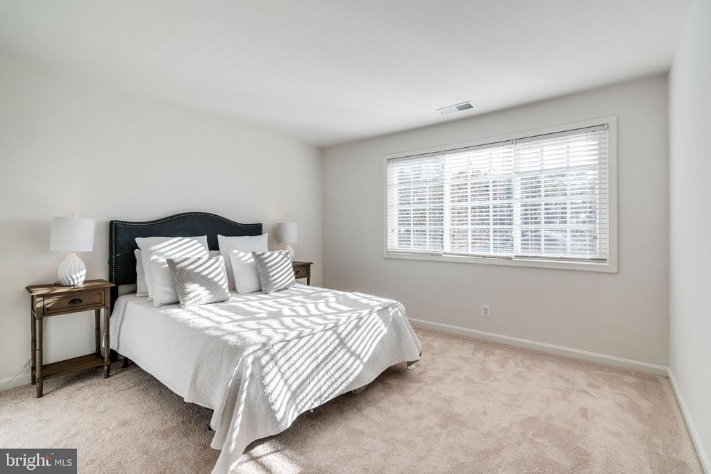 Bedroom one with BRAND NEW carpeting - 1403 N VAN DORN #C, ALEXANDRIA