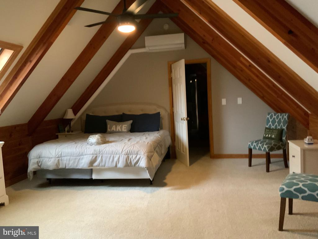 Upper Level Bedroom/Master - 6406 CARTER LN, MINERAL
