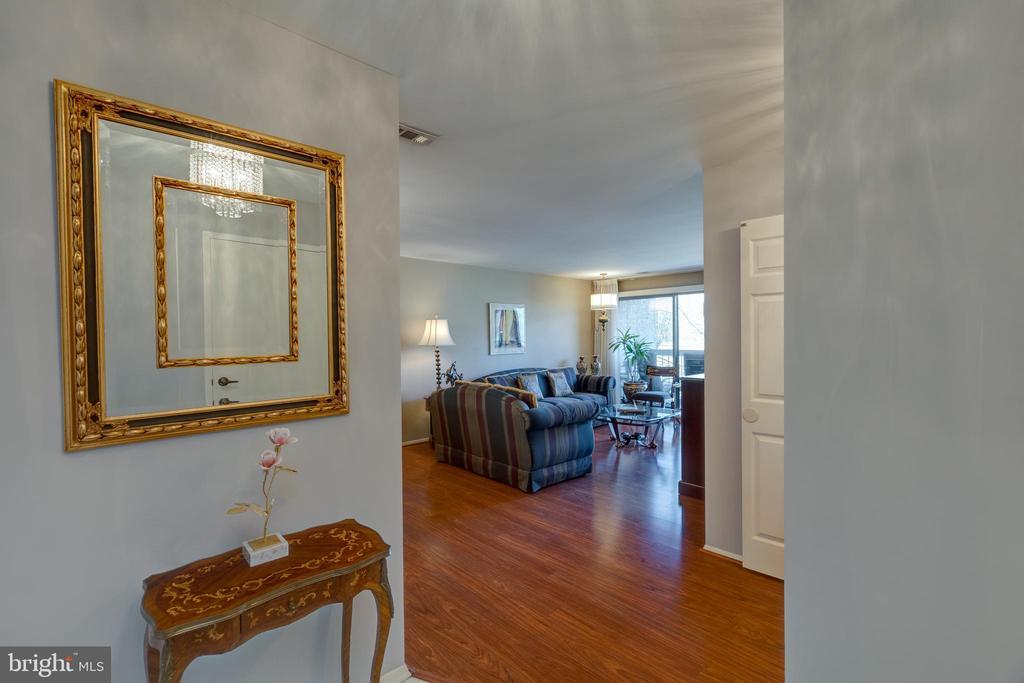 *Large Open Foyer with separate coat closet - 3031 BORGE ST #212, OAKTON