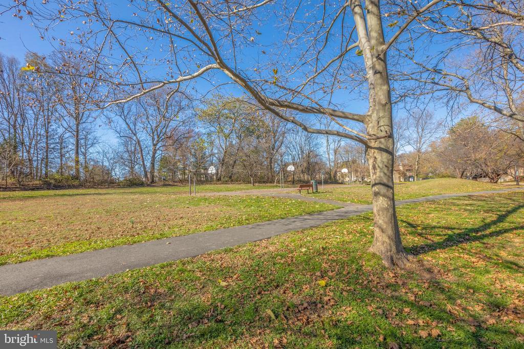 *Views of Park also wonderful community  amenities - 3031 BORGE ST #212, OAKTON