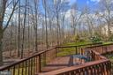 Deck Walkway from Front to Back of House - 5040 CANNON BLUFF DR, WOODBRIDGE