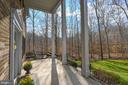 Wide Front Porch with Columns - 5040 CANNON BLUFF DR, WOODBRIDGE