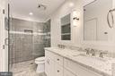 Hall Bath is updated to perfection ! - 47525 SAULTY DR, STERLING