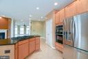 Gourmet kitchen - 25811 MEWS TER, CHANTILLY