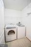 Upper level laundry - 25811 MEWS TER, CHANTILLY