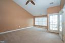 Vaulted master bedroom - 25811 MEWS TER, CHANTILLY
