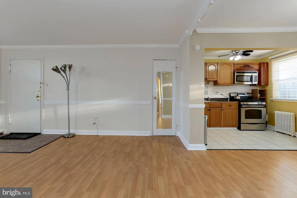 Combo kitchen - dining - living - 5318 8TH RD S #6, ARLINGTON