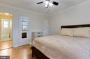 Master bedroom - 2 closets - 5318 8TH RD S #6, ARLINGTON