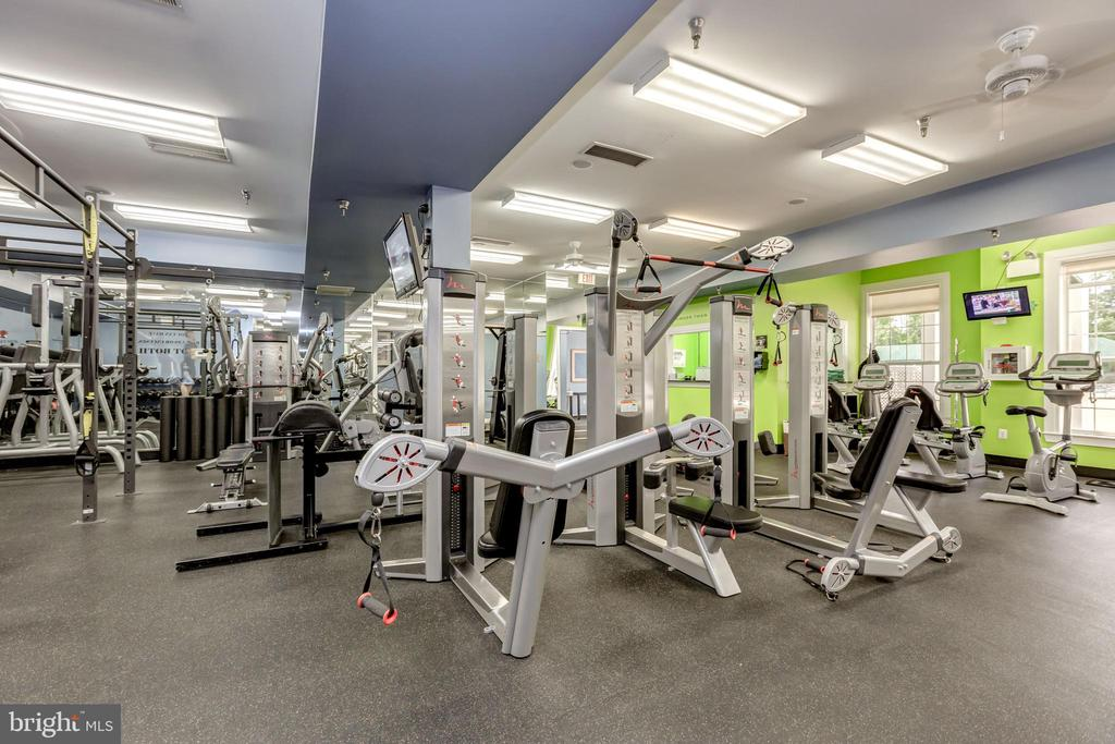 Fitness Center - 43224 SOMERSET HILLS TER, ASHBURN