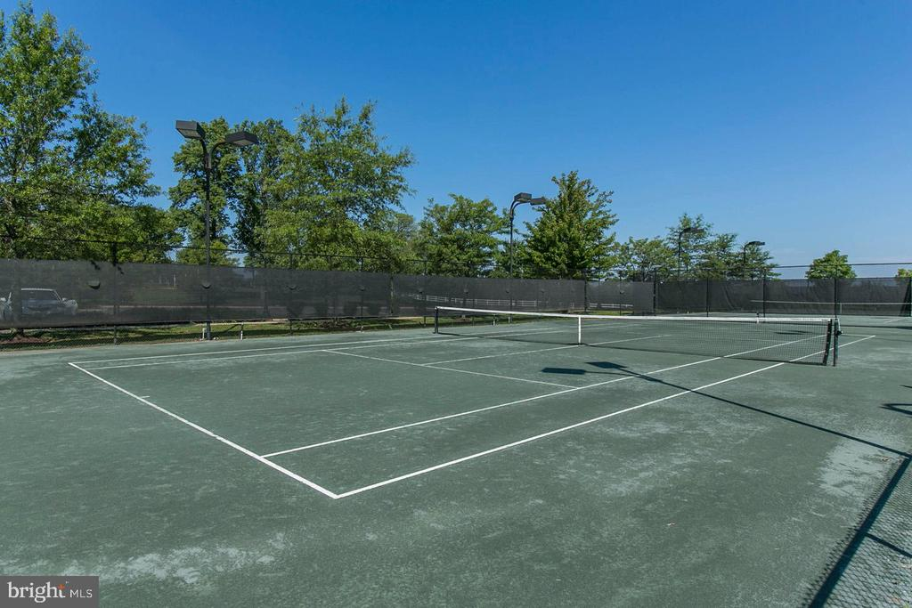 Lighted, Clay Courts at the Club - 43224 SOMERSET HILLS TER, ASHBURN