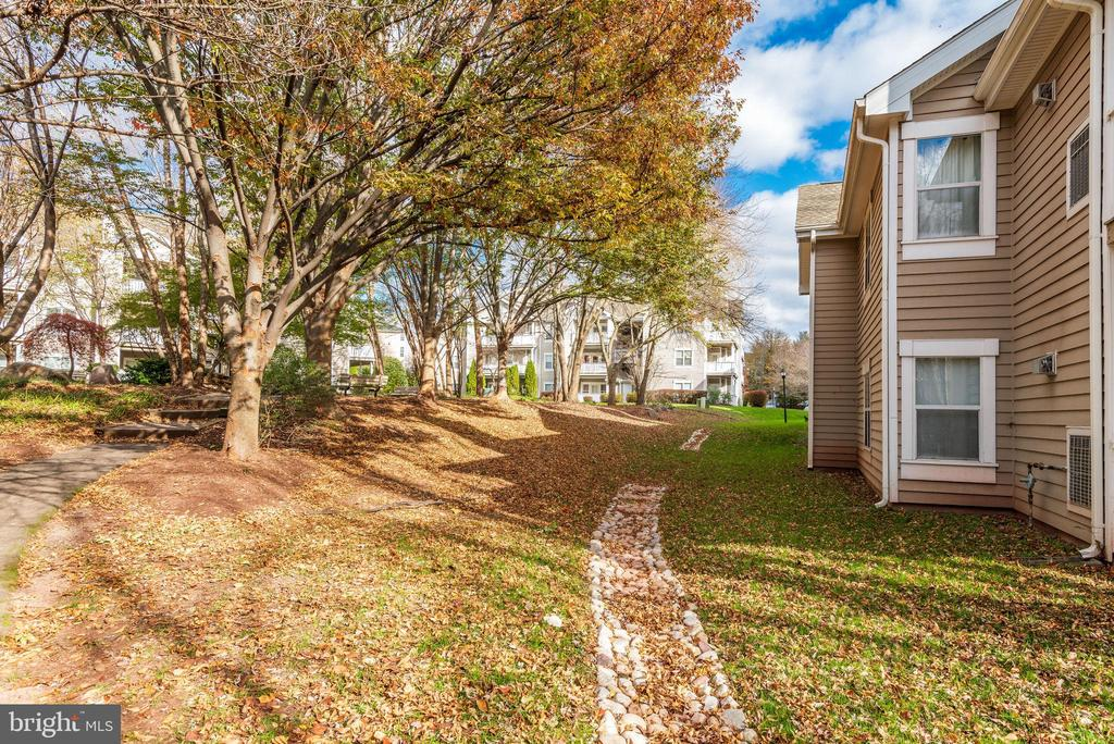 Walking paths abound in this tranquil neighborhood - 14316 CLIMBING ROSE WAY #203, CENTREVILLE