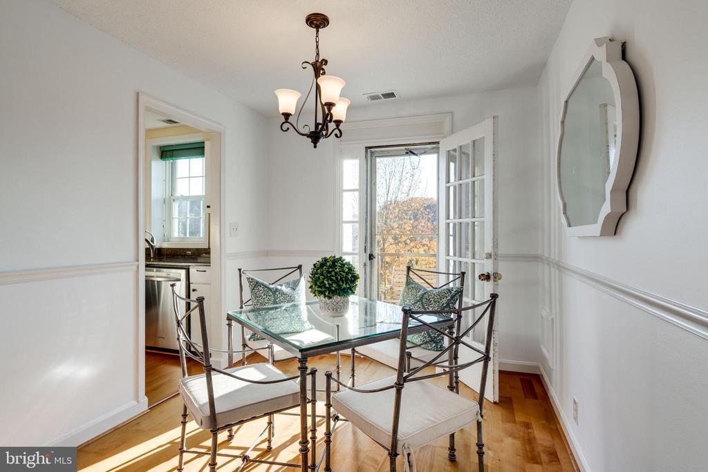 dining room - 2968 S COLUMBUS ST #C2, ARLINGTON