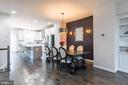 Imagine dining, entertaining or just chilling here - 3167 VIRGINIA BLUEBELL CT, FAIRFAX