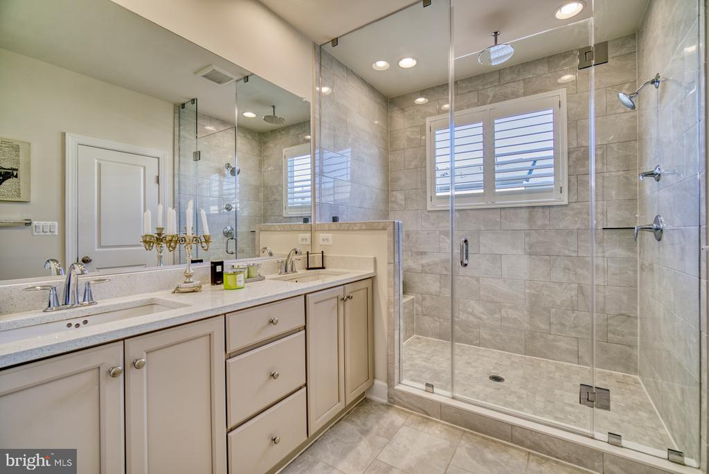 Double sink and rimless shower - 42288 PORTER RIDGE TER, BRAMBLETON