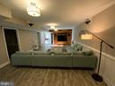 Lower Level Family Room w/Surround Sound! - 6406 CARTER LN, MINERAL