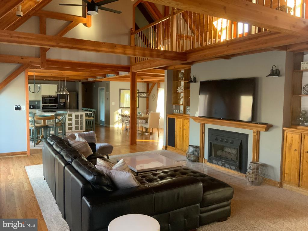 Outstanding Living Room - 6406 CARTER LN, MINERAL